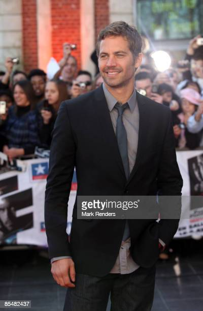 Paul Walker attends 'Fast Furious 4' Photocall at Lomme Kinepolis on March 18 2009 in Lille France