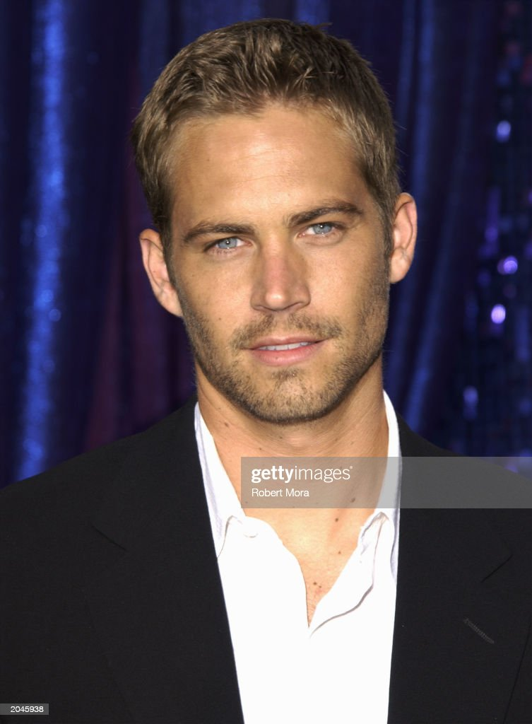 Paul Walker attends The 2003 MTV Movie Awards held at the Shrine Auditorium on May 31, 2003 in Los Angeles, California.
