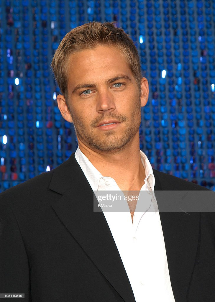 Paul Walker during 2003 MTV Movie Awards Arrivals at The Shrine Auditorium in Los Angeles California United States