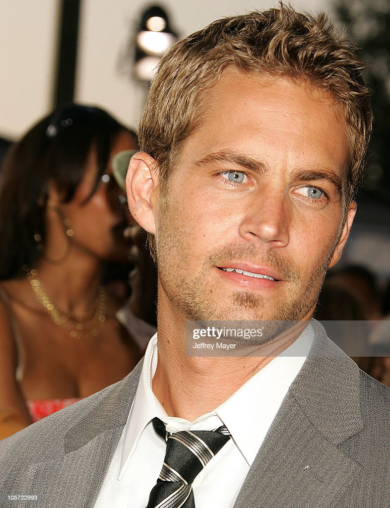 Paul Walker during 2005 MTV Movie Awards Arrivals at Shrine Auditorium in Los Angeles California United States