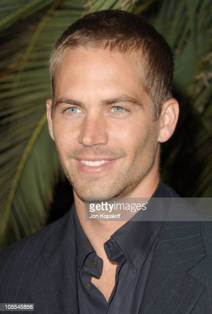 Paul Walker during 'Into the Blue' Los Angeles Premiere Arrivals at Mann Village Theatre in Westwood California United States