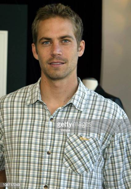 Paul Walker during John Varvatos and 'Shop To Show Your Support' at the 2nd Annual Stuart House Benefit Event at John Varvatos Boutique in West...