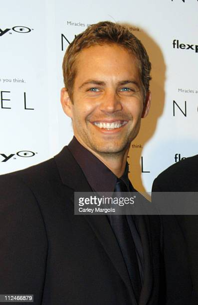 Paul Walker during 'Noel' New York Premiere at Regal United Artist Battery Park City Stadium 16 in New York City New York United States