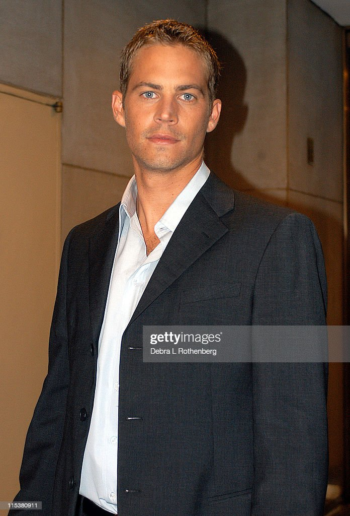 Paul Walker during Paul Walker Arrives for the Today Show at Rockerfeller Plaza in New York City New York United States