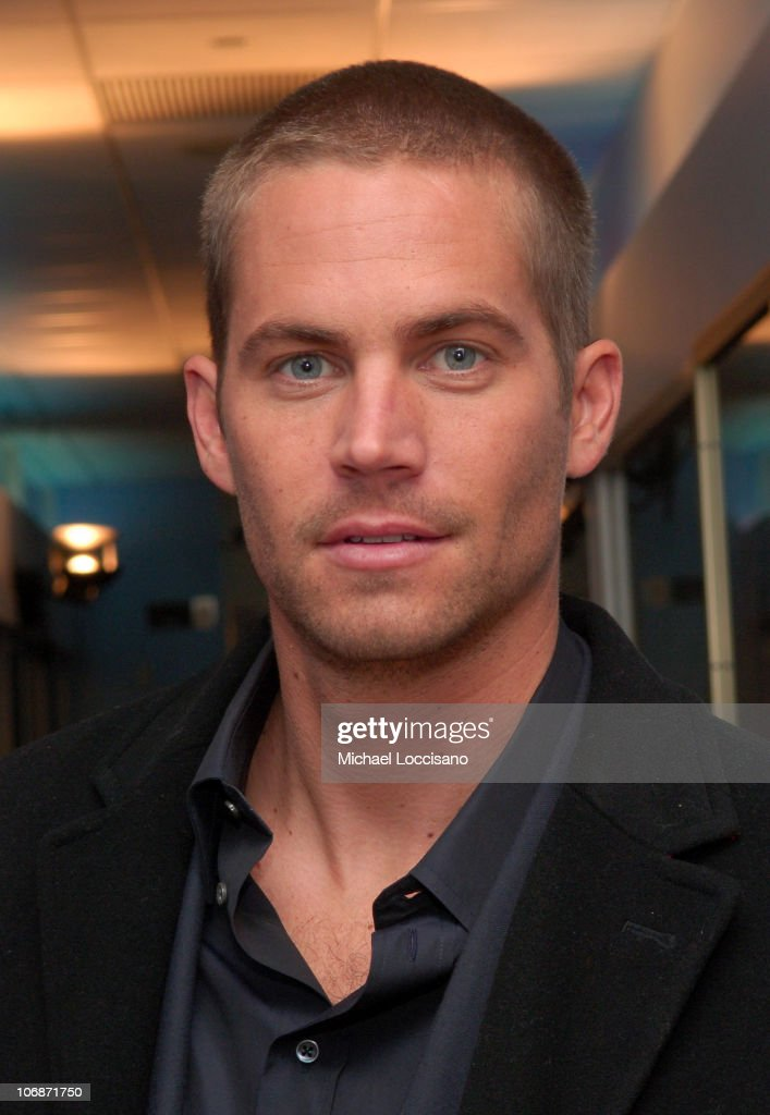 Paul Walker during Paul Walker Pomotes 'Running Scared' at MTV2's Rock Countdown February 15 2006 at MTV Studios Times Square in New York City New...