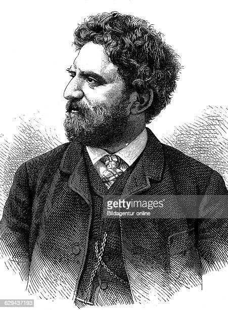 Paul wallot 1841 1912 builder of the german reichstag building in berlin historical illustration circa 1893