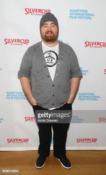 Paul Walter Hauser attends the red carpet for ' I Tonya' at Guild Hall during Hamptons International Film Festival 2017 Day Four on October 8 2017 in...