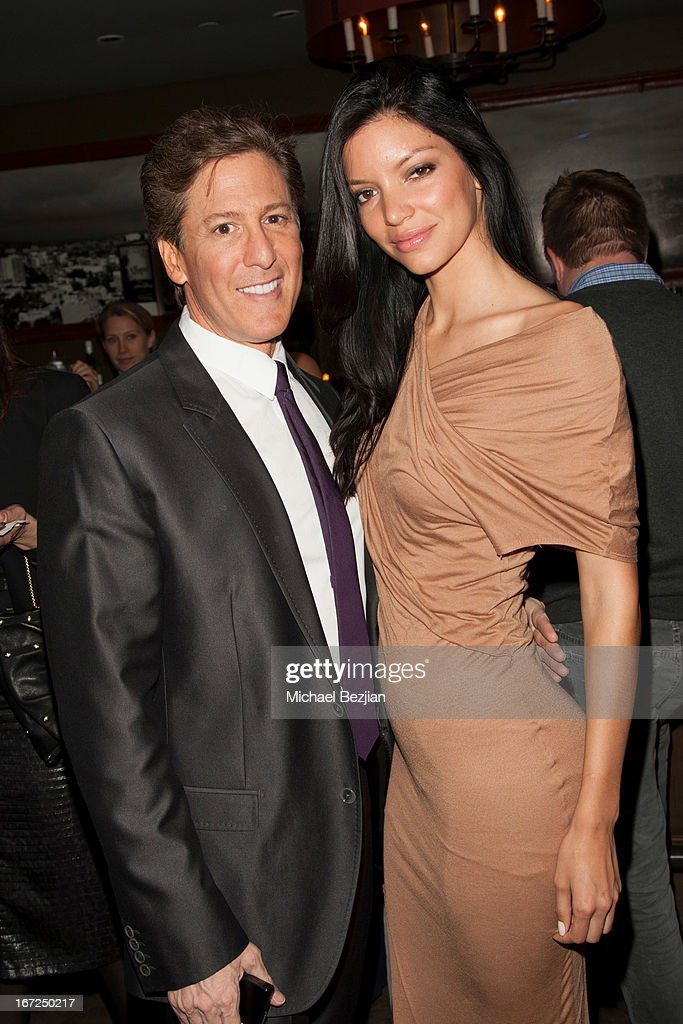 Paul Weinberg and Shay Londre attend Mutt Match LA Fundraiser at Soho House on April 22, 2013 in West Hollywood, California.