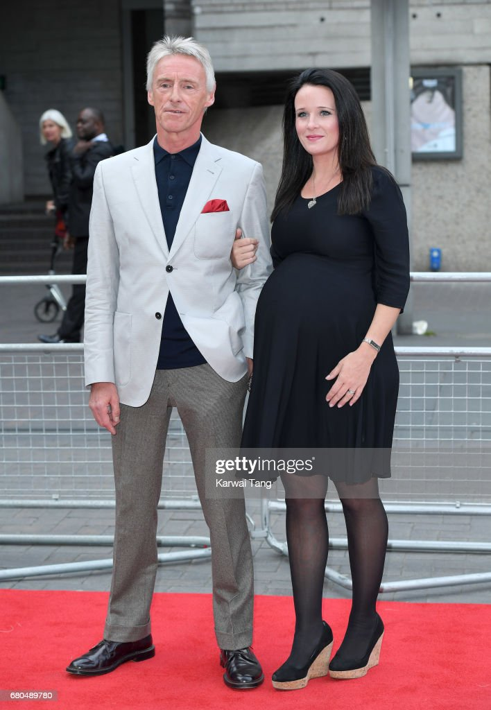 Paul Weller and Hannah Andrews attend the 'Jawbone' UK premiere at BFI Southbank on May 8, 2017 in London, United Kingdom.