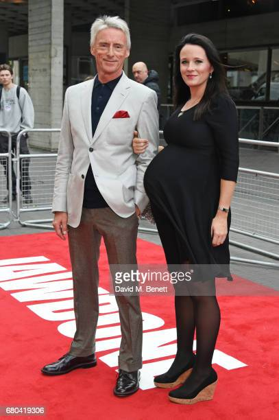 Paul Weller and Hannah Andrews attend the UK Premiere of 'Jawbone' at BFI Southbank on May 8 2017 in London United Kingdom