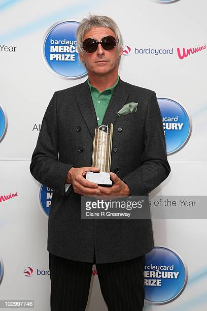 Paul Weller attends the photocall for the Barclaycard Mercury Prize Nominations Announcement at The Hospital on July 20 2010 in London England