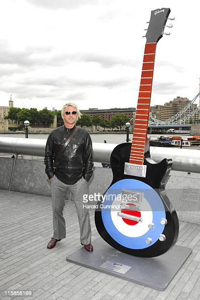 Paul Weller during Gibson Guitar Town Launch at More London in London Great Britain