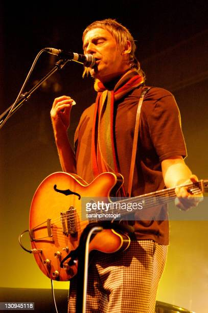 Paul Weller during Paul Weller in Concert February 19 2005 at Hull Arena in Hull Great Britain
