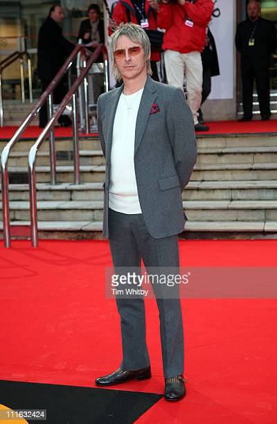 Paul Weller during The Brit Awards 2006 with MasterCard Outside Arrivals at Earls Court in London Great Britain