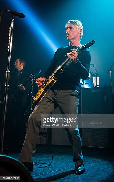 Paul Weller performs at Le Bataclan on April 8 2015 in Paris France