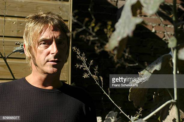 Paul Weller poses on September 18th 2003 in Amsterdam Netherlands