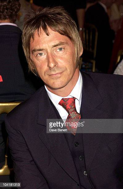 Paul Weller Silver Clef Lunch Of Behalf Of The Nordoff Robbins Music Theraphy Charity At The Hotel Intercontinental Hyde Park In London