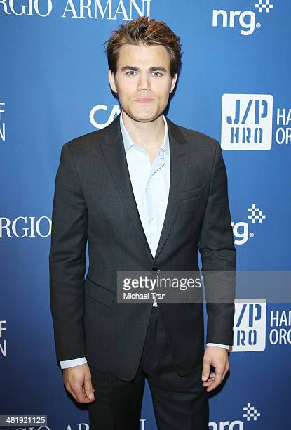 Paul Wesley arrives at the 3rd Annual Sean Penn Friends Help Haiti Home Gala benefiting J/P HRO presented By Giorgio Armani held at Montage Beverly...