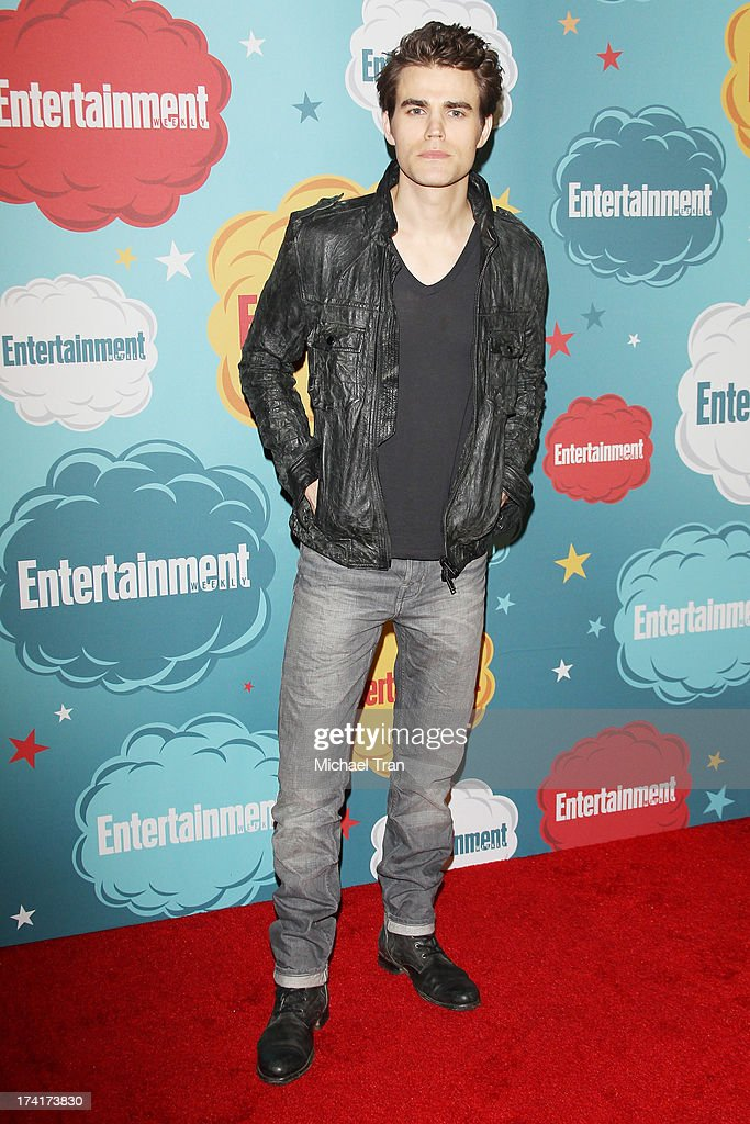 Paul Wesley arrives at the Entertainment Weekly's Annual Comic-Con celebration held at Float at Hard Rock Hotel San Diego on July 20, 2013 in San Diego, California.