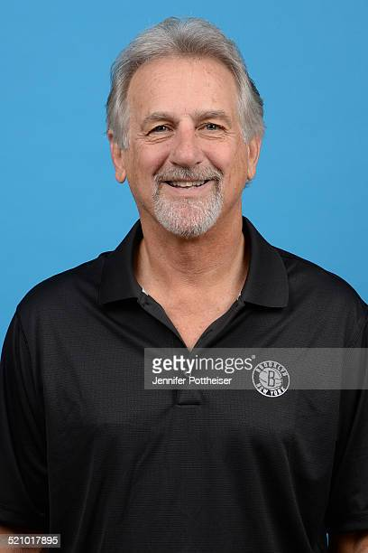 Paul Westphal of the Brooklyn Nets poses for a portrait during media day on September 26 2014 at the PNY Center in East Rutherford New Jersey NOTE TO...