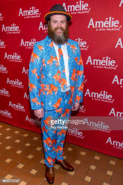 Paul Whitty attends the 'Amelie' Broadway Opening Night After Party the at 30 Rockefeller Plaza on April 3 2017 in New York City