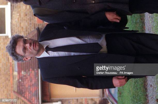 Paul Wigham arrives at All Soul's Church in Crockenhill Swanley Kent today for his parents funeral His parents were among 68 people killed when...