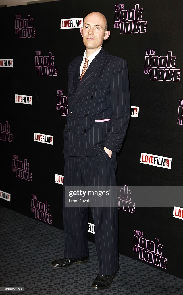Paul Willetts attends 'The Look Of Love' UK premiere at Curzon Soho on April 15, 2013 in London, England.