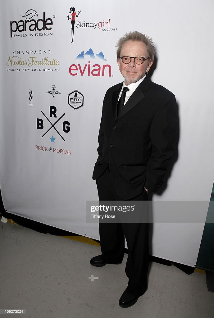 <a gi-track='captionPersonalityLinkClicked' href=/galleries/search?phrase=Paul+Williams+-+Songwriter&family=editorial&specificpeople=5853768 ng-click='$event.stopPropagation()'>Paul Williams</a> attends the Critics' Choice Movie Awards 2013 with Evian at Barkar Hangar on January 10, 2013 in Santa Monica, California.