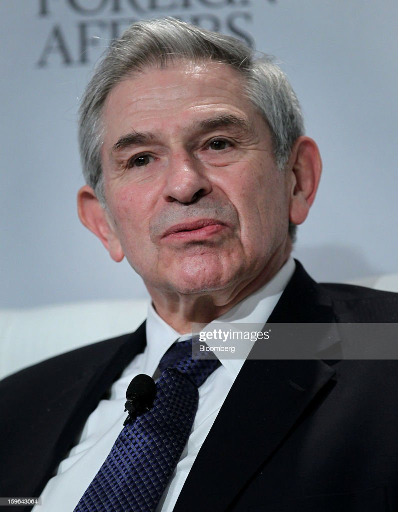 Paul Wolfowitz, scholar at American Enterprise Institute for Public Policy Research (AEI) and former president of World Bank Group, speaks at the Bloomberg Global Markets Summit in New York, U.S., on Thursday, Jan. 17, 2013. The Bloomberg Global Markets Summit, co-hosted by Foreign Affairs Magazine and Bloomberg LINK, convenes market makers and market movers as investors map their strategy for the year ahead. Photographer: Jin Lee/Bloomberg via Getty Images