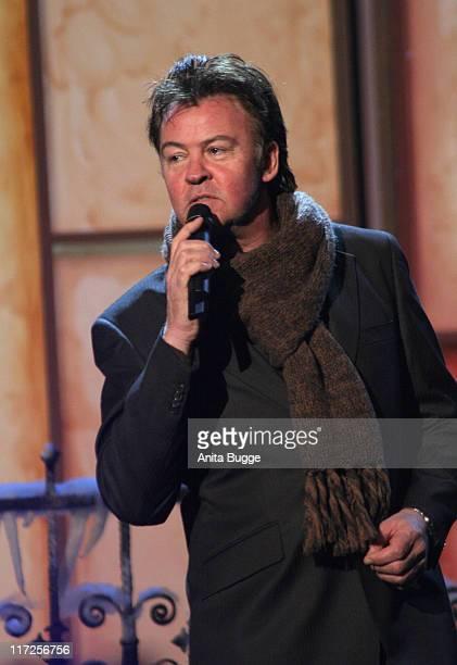 Paul Young during Jose Carreras Gala Dress Rehearsal in Berlin Berlin Germany
