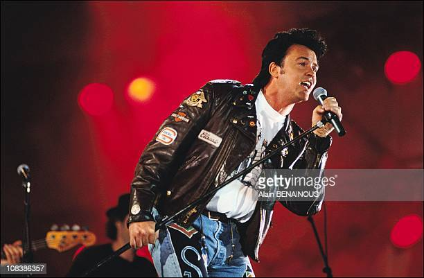 Paul young in Paris France on September 21 1991
