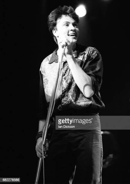 Paul Young performing on stage at Town Country Club Kentish Town London 16 December 1990