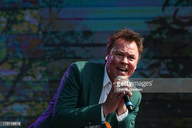 Paul Young performs on stage at British Summer Time 'A Day At The Park' at Hyde Park on July 7 2013 in London England