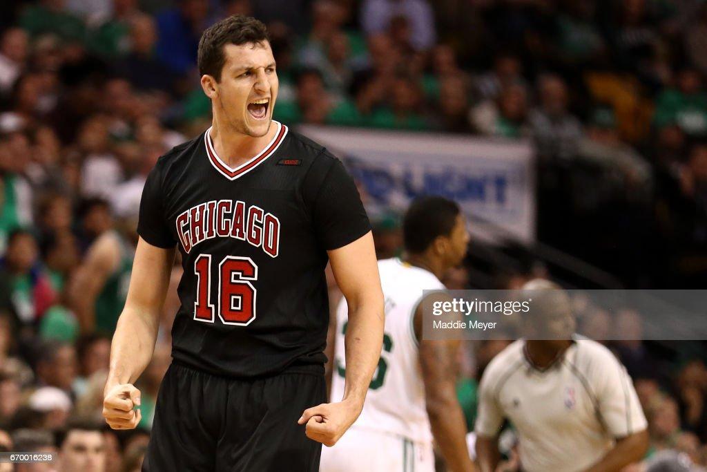 Chicago Bulls v Boston Celtics - Game Two