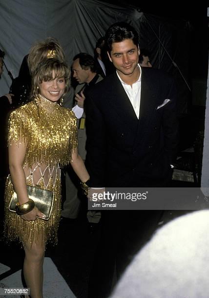Paula Abdul And John Stamos at the Shrine Auditorium in Los Angeles California