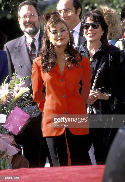 Paula Abdul And Mother Lorraine during Paula Abdul Receives Star on Hollywood Walk of Fame in Hollywood California United States