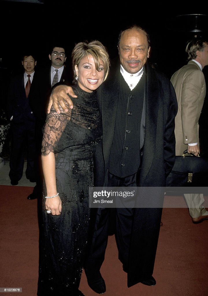 Paula Abdul And Quincy Jones