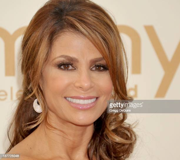 Paula Abdul arrives at the Academy of Television Arts Sciences 63rd Primetime Emmy Awards at Nokia Theatre LA Live on September 18 2011 in Los...