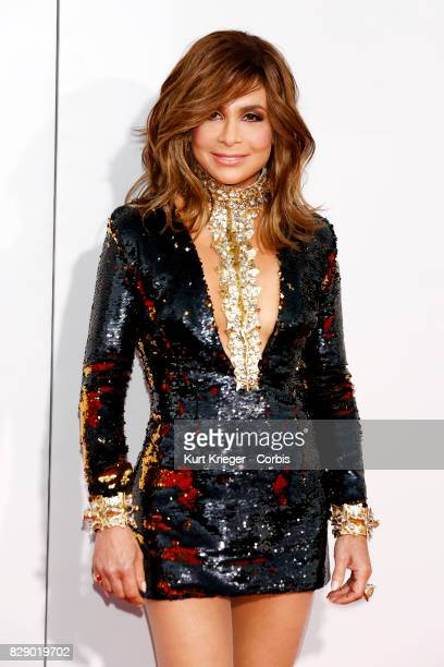 Image has been digitally retouched Paula Abdul arrives at the American Music Awards in Los Angeles CA November 22 2015