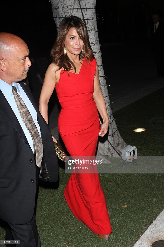 Paula Abdul as seen on July 27, 2013 in Los Angeles, California.