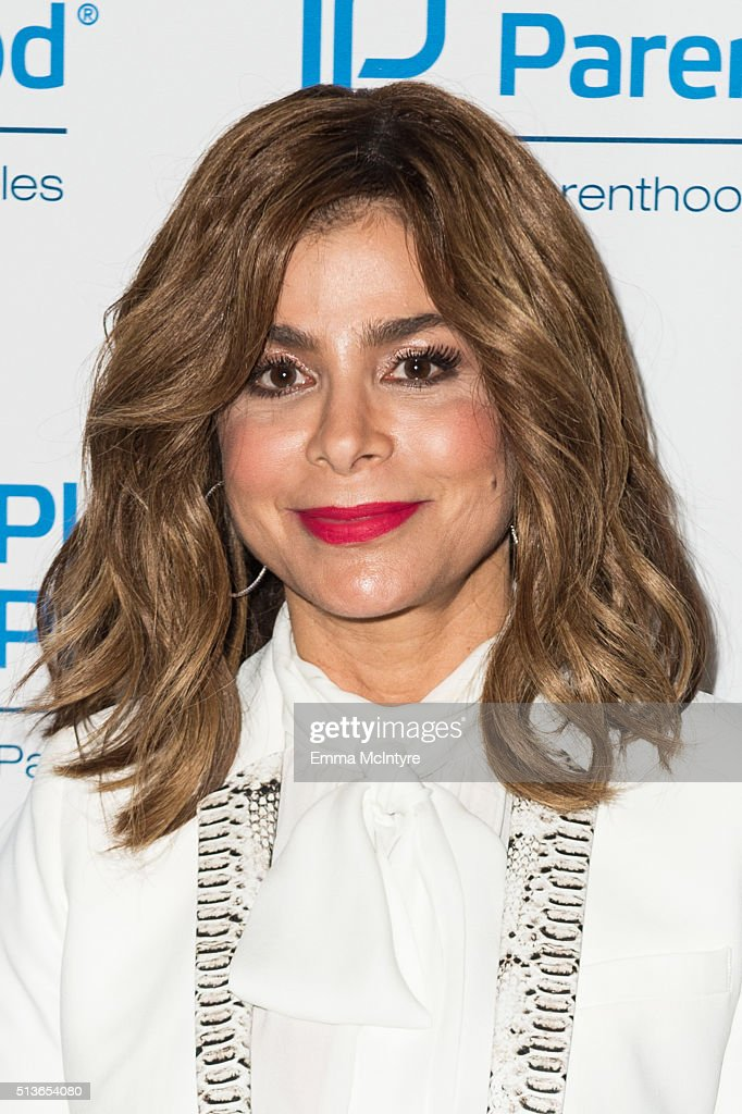 Paula Abdul attends the 2016 Planned Parenthood Los Angeles' Food Fair at Barker Hangar on March 3, 2016 in Santa Monica, California.