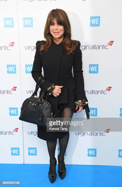 Paula Abdul attends WE Day UK at The SSE Arena on March 22 2017 in London United Kingdom