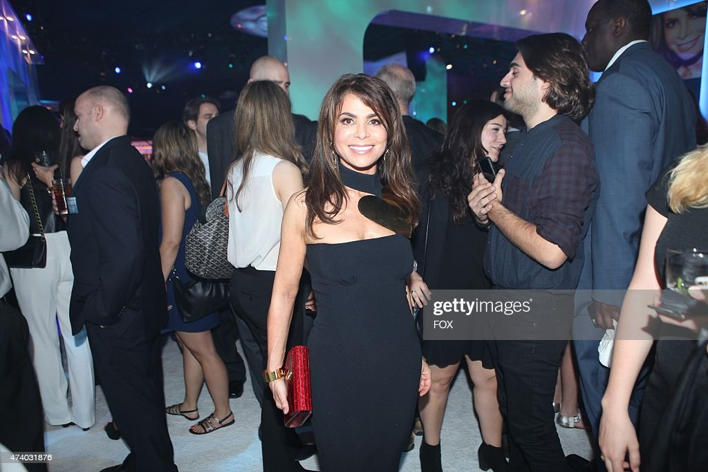 Paula Abdul celebrates during the FOX ALL STAR PARTY on Monday May 11 2015 at The Stone Rose in New York