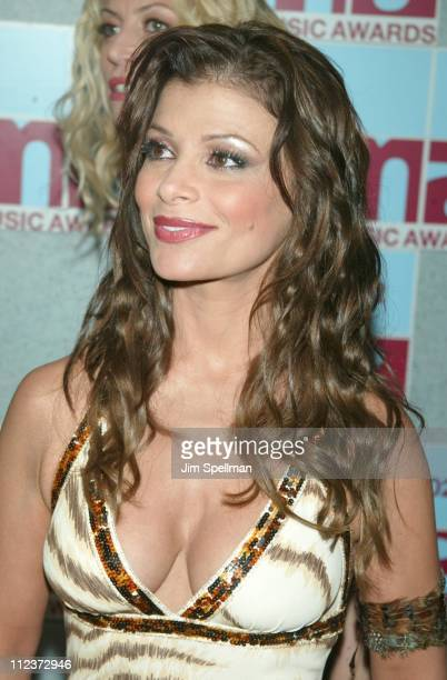 Paula Abdul during 2002 MTV Video Music Awards Arrivals at Radio City Music Hall in New York City New York United States