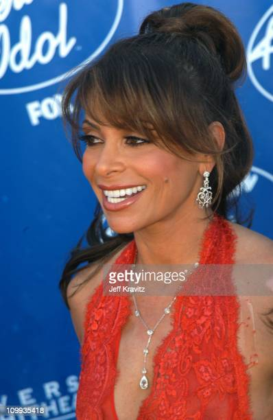 Paula Abdul during American Idol 2 Finals Arrivals at Universal Amphitheatre in Universal City CA United States