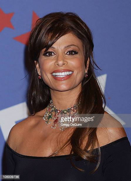 Paula Abdul during 'American Idol' Season 1 Finale Performance Show Press Room at Kodak Theatre in Hollywood California United States
