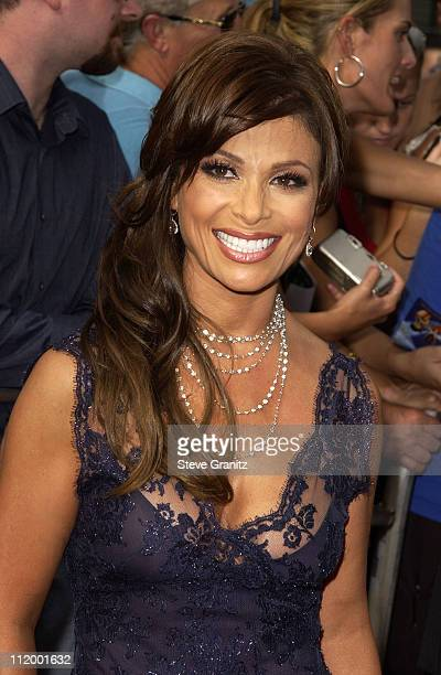 Paula Abdul during 'American Idol' Season 1 Finale Results Show Arrivals at Kodak Theater in Hollywood California United States