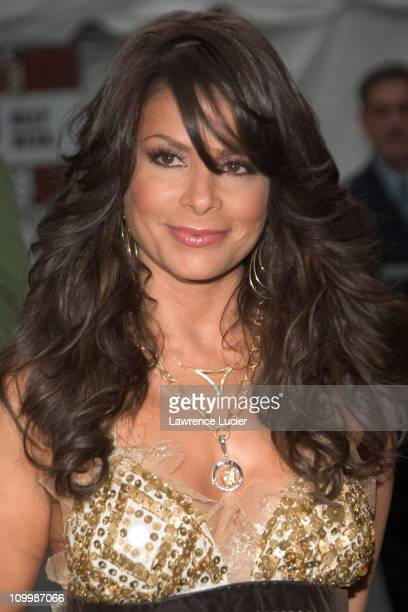 Paula Abdul during Fox Network Upfront 20062007 Outside Arrivals at Gustavinos in New York NY United States