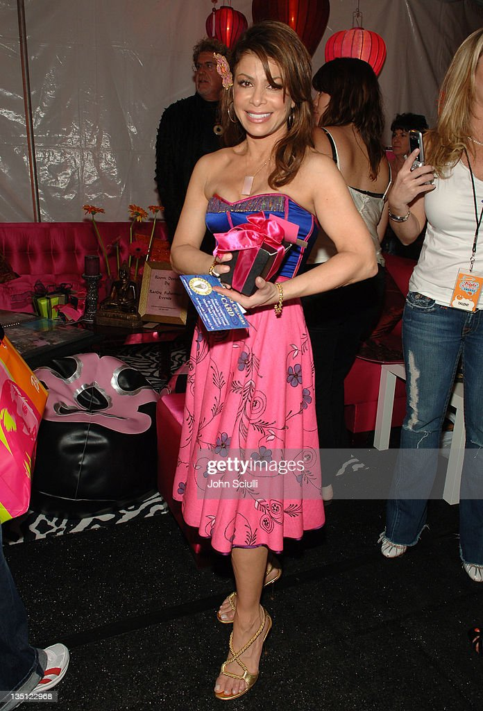 Paula Abdul during Mattel Celebrity Retreat Presented by Backstage Creations at Kids' Choice Awards '05 - Day 2 at UCLA Pauley Pavilion in Westwood, California, United States.