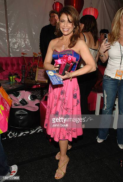 Paula Abdul during Mattel Celebrity Retreat Presented by Backstage Creations at Kids' Choice Awards '05 Day 2 at UCLA Pauley Pavilion in Westwood...